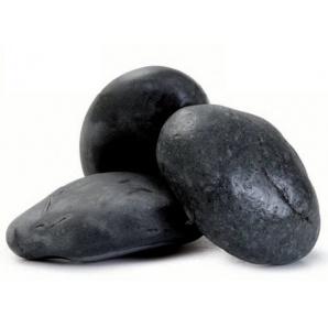 Мармурова галька чорна Эбона 100-200 мм