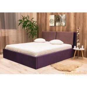 Двоспальне ліжко Нелі 180х200 з підйомним механізмом