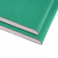 Гипсокартон влагостойкий KNAUF 12,5 мм 2,0х1,2м (м2)