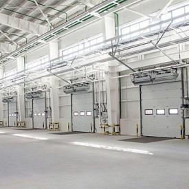 Автоматические ворота для производств и складов ALUTECH ProPlus 3500×3000 мм