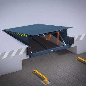 Уравнительные платформы с поворотной аппарелью ALUTECH SL 4500х1750 мм