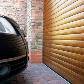 Автоматические роллетные ворота ALUTECH Prestige 3700×2700 мм