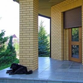 Роллета на двери Alutech 1100х2200 мм шоколадно-коричневый