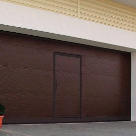 Автоматические подъемные секционные гаражные ворота ALUTECH Trend 2625×2250 мм