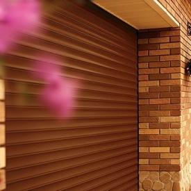 Автоматические роллетные ворота ALUTECH 2700x2800 мм