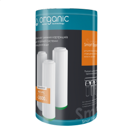 Комплект змінних картриджів Organic Smart Trio Expert