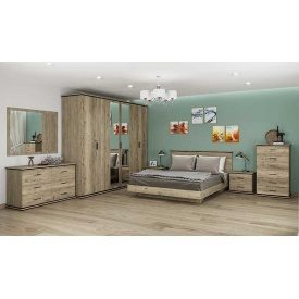 Спальня комплект 6Д Палермо Мир мебели