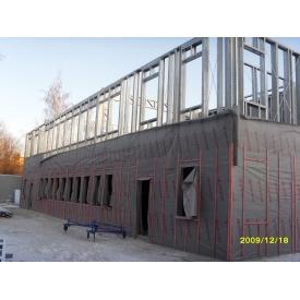 Строительство быстровозводимого здания из ЛСТК