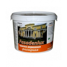 Краска Gaia акриловая фасадная Fasadenlux 5 л