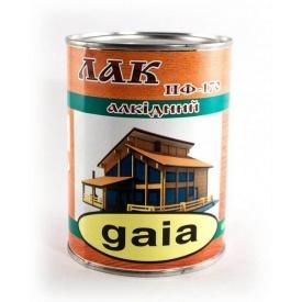 Лак Gaia ПФ-170 для дерева атмосферостойкий 0,8 кг