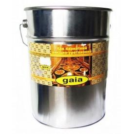 Лак Gaia паркетный алкидно-уретановый 18 кг