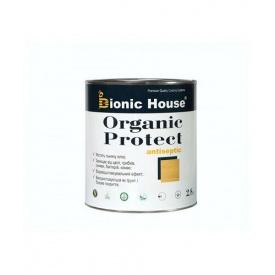 Антисептик для дерева Bionic-House ORGANIC PROTECT 2,8 л
