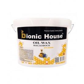 Масло-воск Bionic-House для обработки древесины 10 л