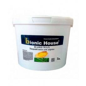 Масло с твердым воском Bionic-House для паркета Hard wax oil 3.0 л