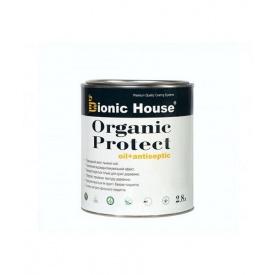 Масло для дерева + антисептик Bionic-House ORGANIC PROTECT OIL 2,8 л