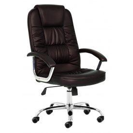 Кресло компьютерное офисное 9947 темно-коричневое