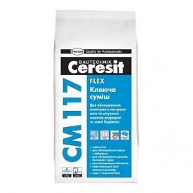 Клей для плитки из природного и искусственного камня Ceresit CM 117/ 5 кг