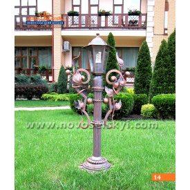 Кованый фонарь А8114