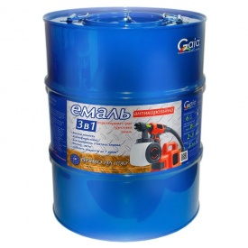 Грунт-емаль Gaia 3 в 1 по іржі 50 кг