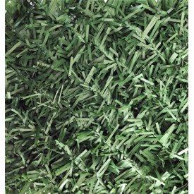 Металлическая сетка с декоративным ПВХ покрытием Хвоя Dark Green 40х40 мм