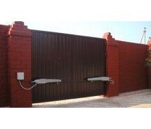 Распашные ворота Alutech ADS400