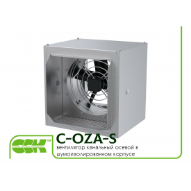 Копія - Вентилятор канальний осьовий в звукоізольованому корпусі C-OZA-S-050-380