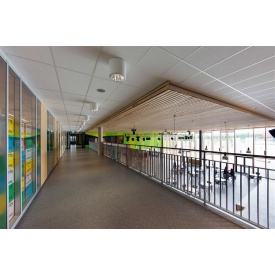Акустическая влагостойкая белая гладкая потолочная плита Rockfon Pacific 1200x600x12 мм