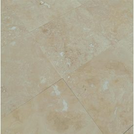 Плитка из травертина Cross Cut Filled&Honed Tiles Classic 45,7x45,7