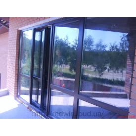 Раздвижные алюминиевые двери Алютех в дом