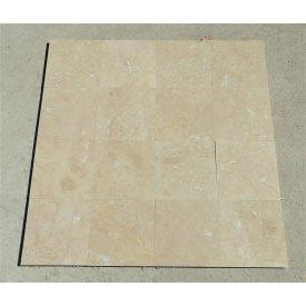 Плитка из травертина Cross Cut Unfilled&Honed Premium 45,7х45,7 см