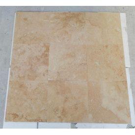 Плитка из травертина Cross Cut Unfilled&Honed Standart 20,3х40,6 см