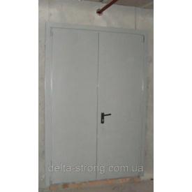 Двери противопожарные двустворчатые Дельта ЕІ-30 металл 1500х2400 мм