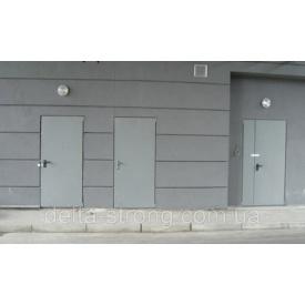 Двері протипожежні одностулкові Дельта ЕІ-30 метал 1030х2100 мм