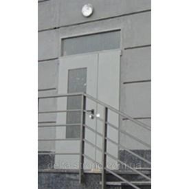 Двері протипожежні двопольні Дельта ЕІ-30 метал 1350х2400 мм