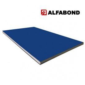 Алюмінієва композитна панель Alfabond 1500x5800х4/0,3 мм Ultramarine Blue