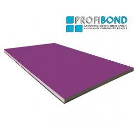 Алюмінієва композитна панель Profibond 1500x4610х4/0,4 мм Signal Violet (RAL 4008)