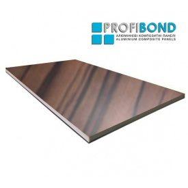 Алюмінієва композитна панель Profibond 1230x5600х4/0,3 мм матове дерево