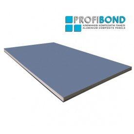 Алюмінієва композитна панель Profibond 1250x5600х4/0,4 мм Pigeon blue (RAL 5014)