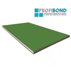 Алюмінієва композитна панель Profibond 1500x5800х4/0,4 мм May Green (RAL 6017)