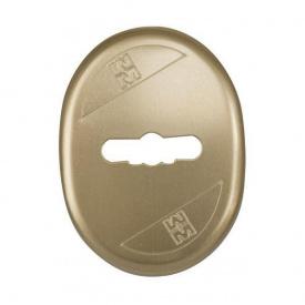 Накладка для замка Mottura 95324 BR бронза анодированая (24655)