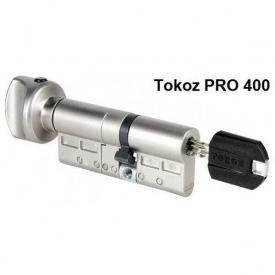 Цилиндры дисковые TOKOZ PRO 400 ключ/тумблер 123 mm 68x55 Т