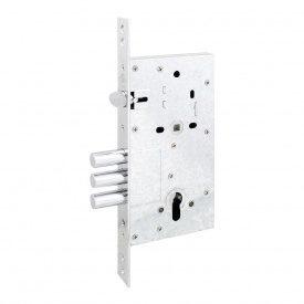 Securemme 2061UCR60XX механізм замка 3-ригельний c засувкою під циліндр (50472)