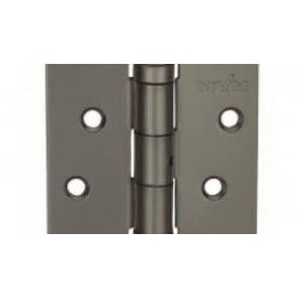 Петли дверные усиленные универсальные MVM 100 мм матовая темная сталь