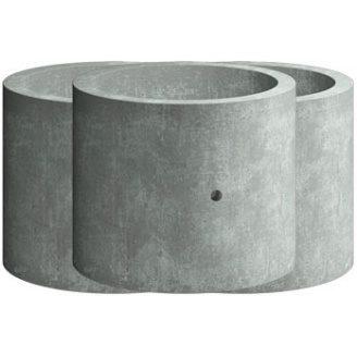 Кільце стінове Elit Beton КС 10.6 залізобетонне 1000х600 мм