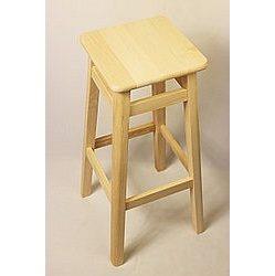Барный стул 700x300x300 мм бук