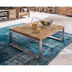 стіл лофт 07 дуб 800х600
