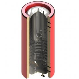 Теплоаккумулятор Termico 300л с двумя теплообменниками изоляцией баком ГВС 65л