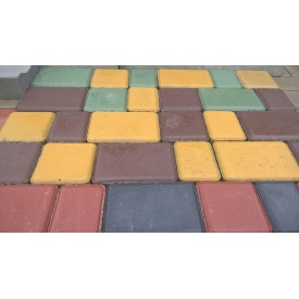 Тротуарная плитка Старый Город вибро-сухо-прессованная 45 мм