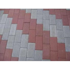 Кирпичик тротуарная плитка 4,5см