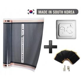 Инфракрасный Теплый пол Deawoo 3 м2 660 Вт + терморегулятор